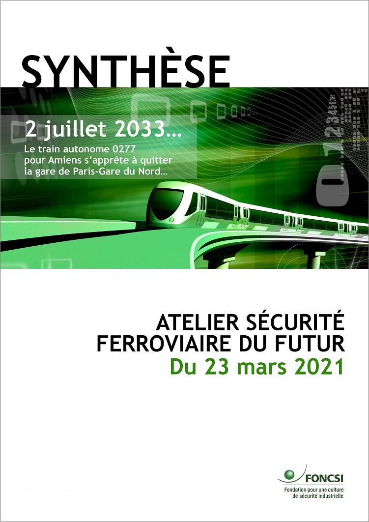 Atelier sécurité ferroviaire du futur : la synthèse est disponible