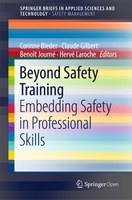 « Beyond Safety Training », le dernier né de la collection « SpringerBriefs in Safety Management »
