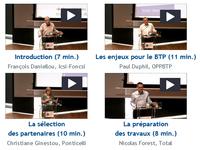 Conférence sous-traitance : découvrez les vidéos des intervenants