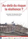 La Foncsi partenaire du colloque « Au-delà du risque, la résilience »