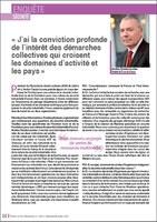 Découvrez l'interview d'André-Claude Lacoste dans « Pétrole et Gaz Informations »