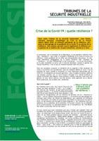 Résilience et Covid : une « Tribune » de Jean Pariès