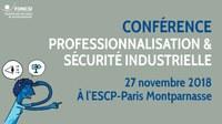SAVE THE DATE : Conférence « Professionnalisation » le 27 novembre