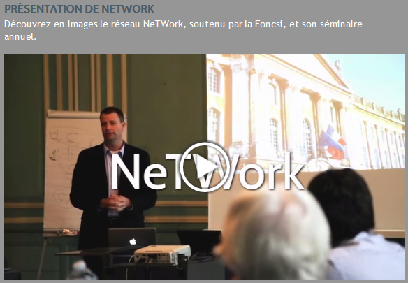 Vidéo_NeTWork
