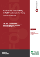 Control and accountability in highly automated systems