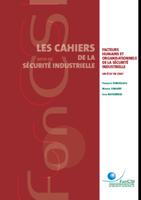 Les facteurs humains et organisationnels de la sécurité industrielle: un état de l'art