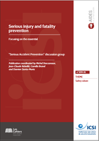 Serious injury and fatality prevention